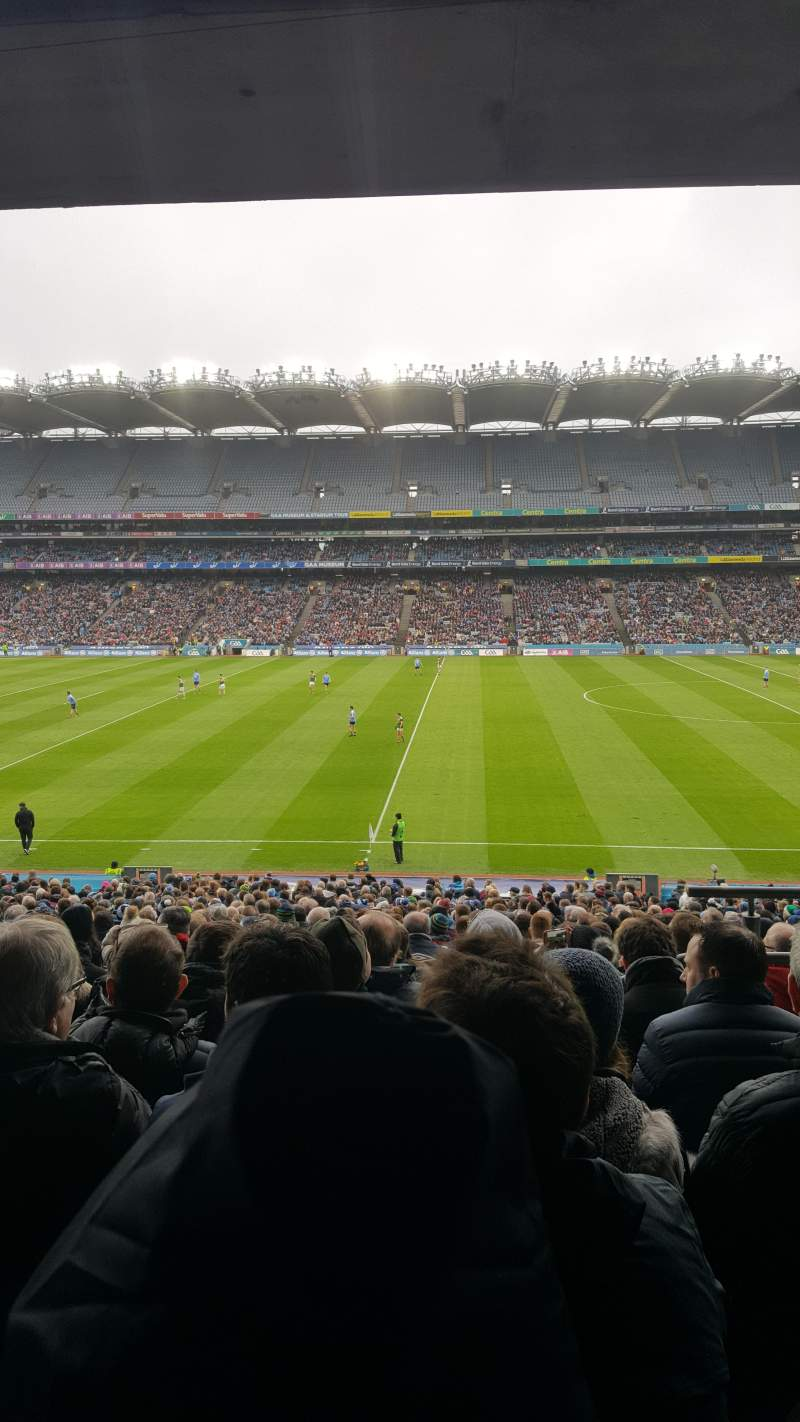 Seating view for Croke Park Section 329 Row RR Seat 29