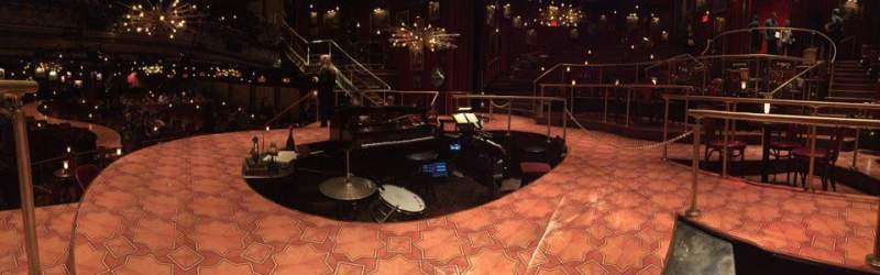 Seating view for Imperial Theatre Section Stage Row SA Seat 1