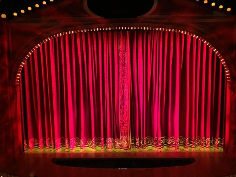 Seating view for Shubert Theatre Section Mezz Row A Seat 105