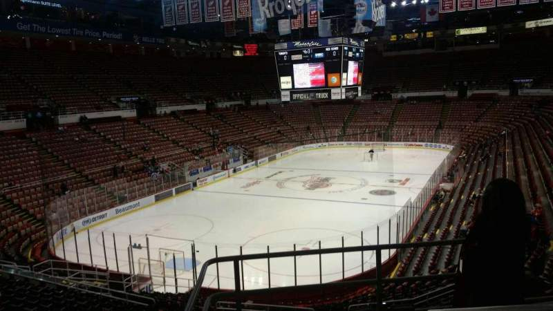 Seating view for Joe Louis Arena Section 213A Row 5 Seat 2