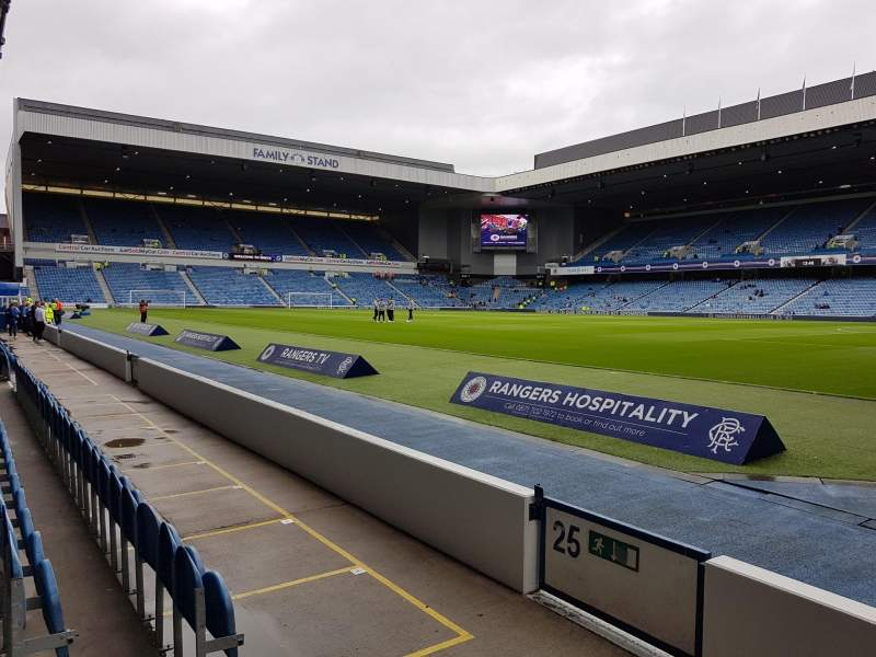 Ibrox Stadium, section: SE2, row: D, seat: 41