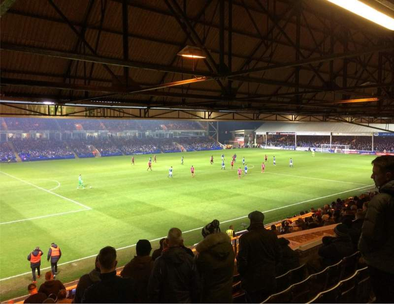Seating view for London Road Stadium