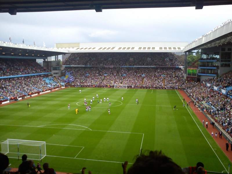 Seating view for Villa Park Section T2 Row T Seat 20