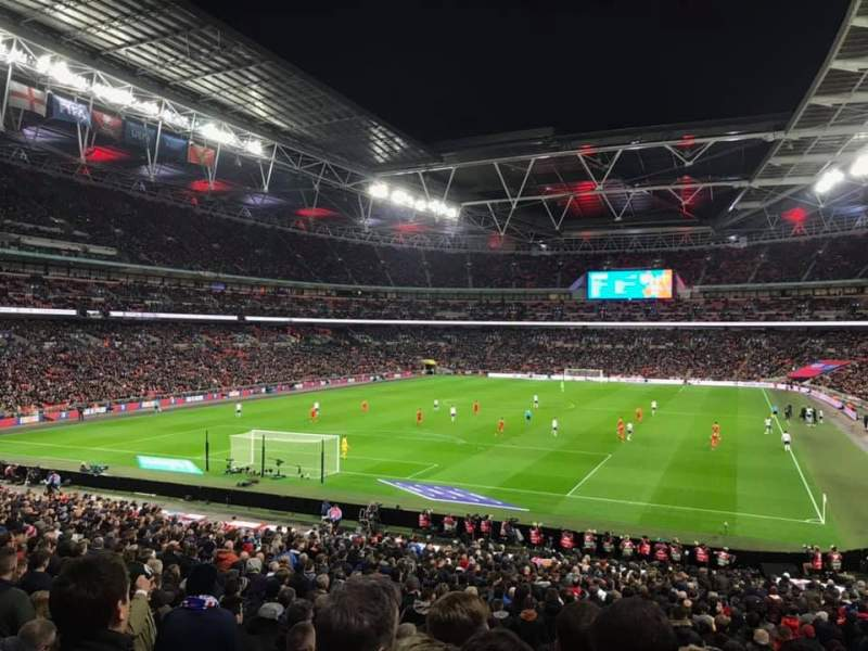Seating view for Wembley Stadium Section 109 Row 35 Seat 209
