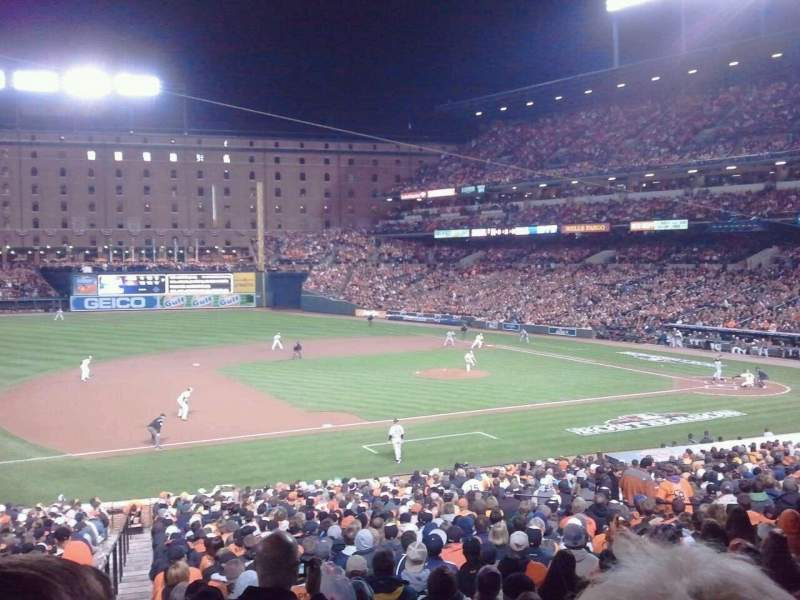 Oriole Park At Camden Yards Section 55 Row 2 Seat 12