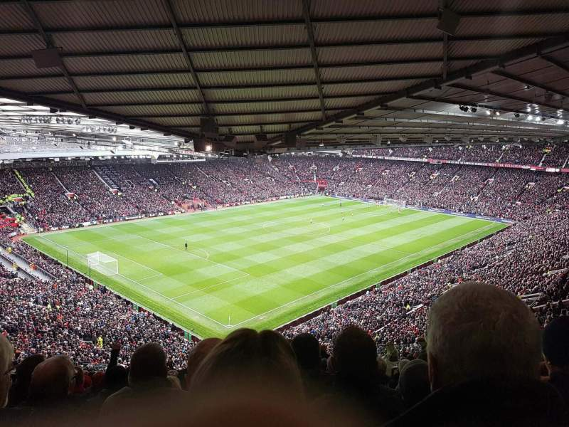 Old Trafford, section: NE3421, row: 26, seat: 75