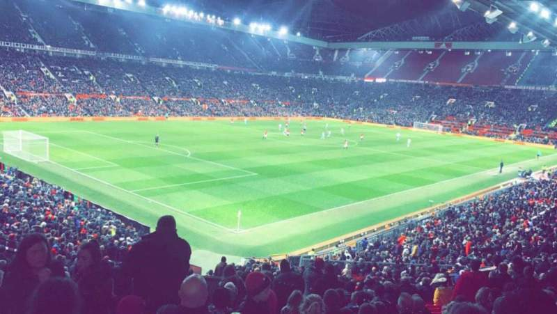 Old Trafford, section: W210, row: 22, seat: 48