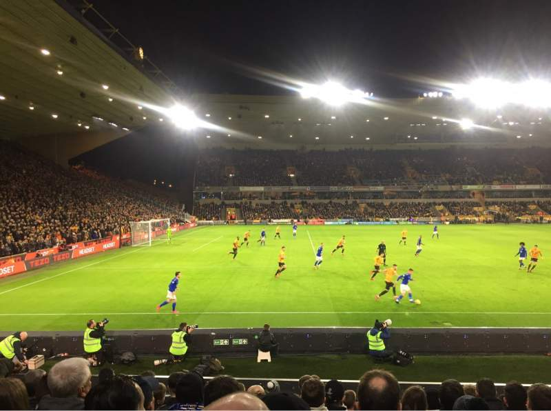 Seating view for Molineux Stadium Section JL9 Row M Seat 235