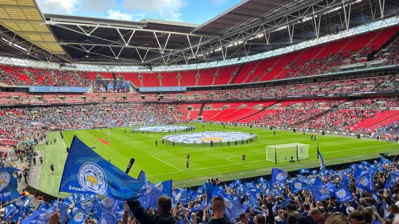 Seating view for Wembley Stadium Section 136 Row 37 Seat 81