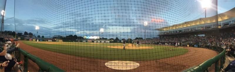 Arvest Ballpark, section: 114, row: A, seat: 2