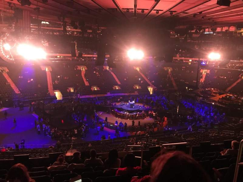 Madison Square Garden: Madison Square Garden, Section 209, Row 8, Seat 13