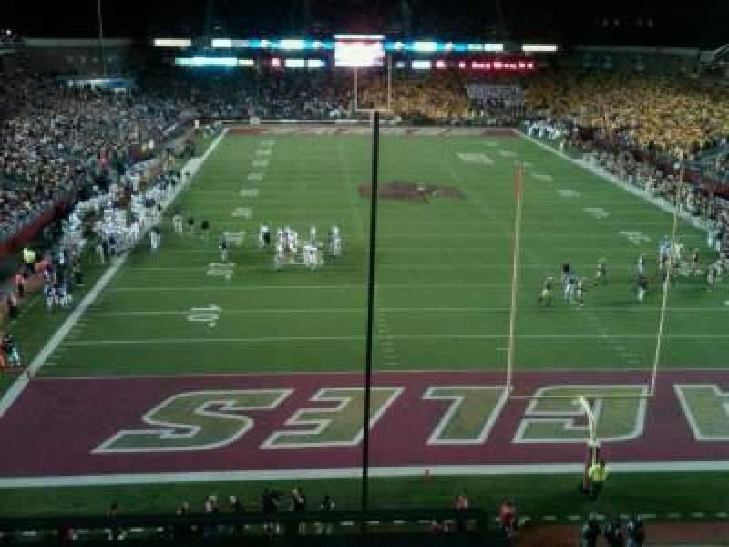 Seating view for Alumni Stadium Section kk