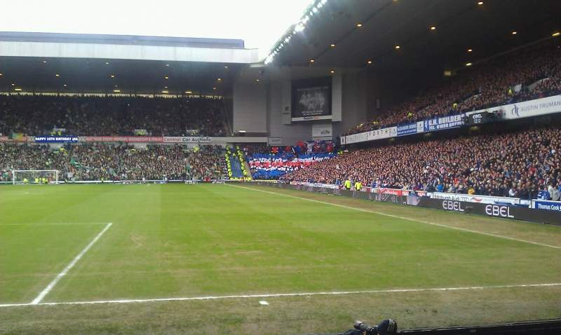 Seating view for Ibrox Park Section cf1 Row e Seat 45
