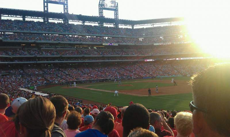 Seating view for Citizens Bank Park Section 111