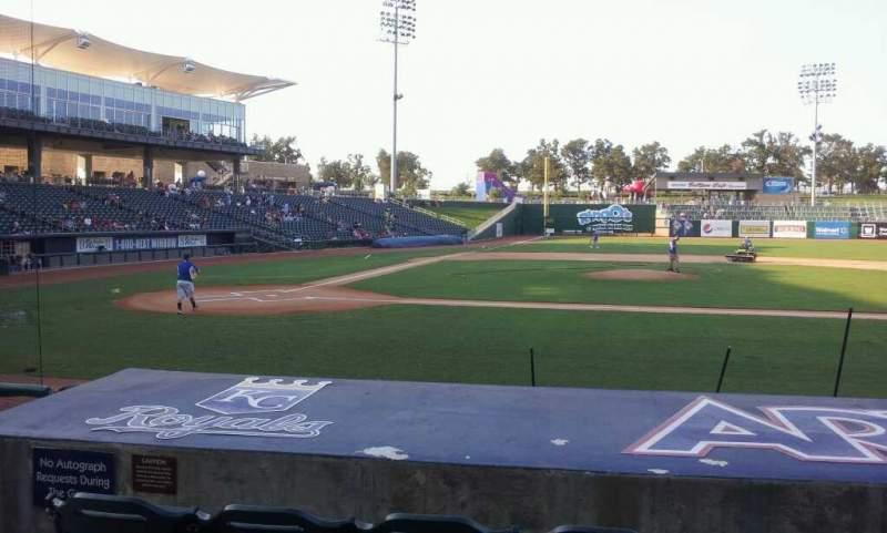 Arvest Ballpark, section: 107, row: i, seat: 10