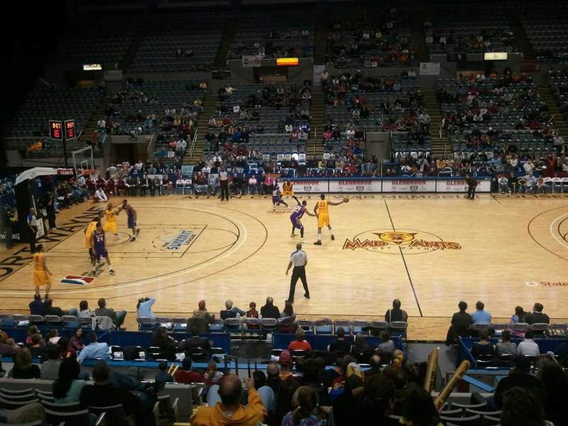 Seating view for Allen County War Memorial Coliseum Section 215 Row 14 Seat 12
