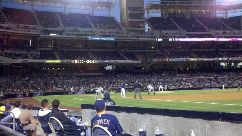 PETCO Park, section: 115, row: 4