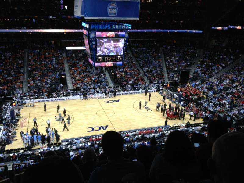 Seating view for State Farm Arena Section 311 Row K Seat 20