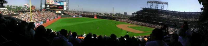 AT&T Park, section: 229, row: I, seat: 8