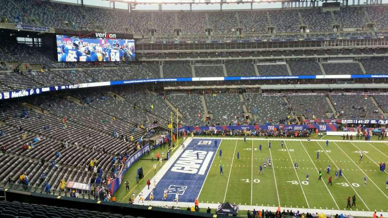 Metlife Stadium Floor Plan: MetLife Stadium, Section 213, Home Of New York Jets, New