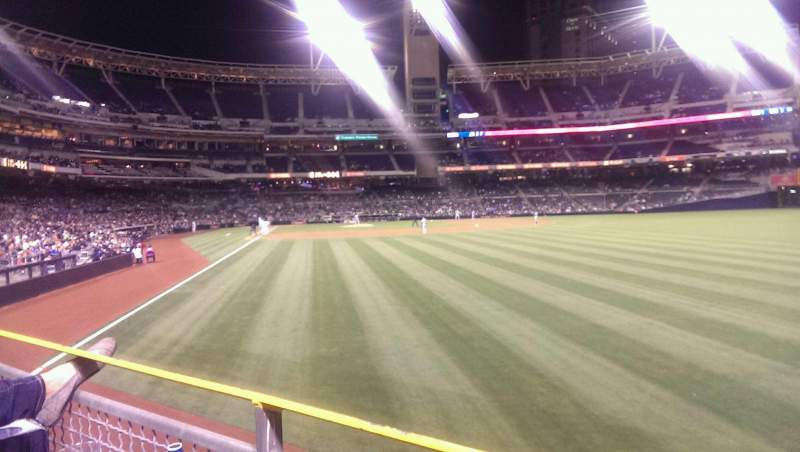 PETCO Park, section: 125, row: 1, seat: 15