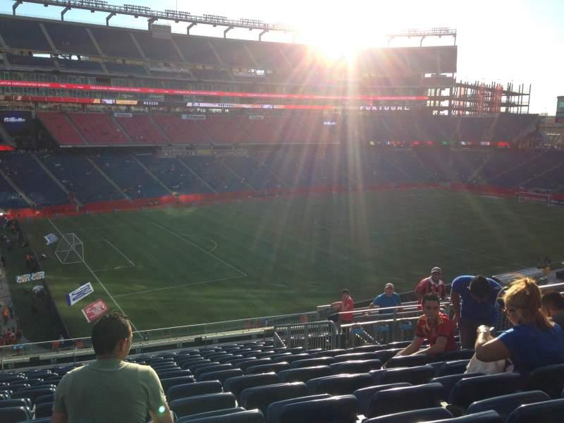 Gillette Stadium, section: 336, row: 14
