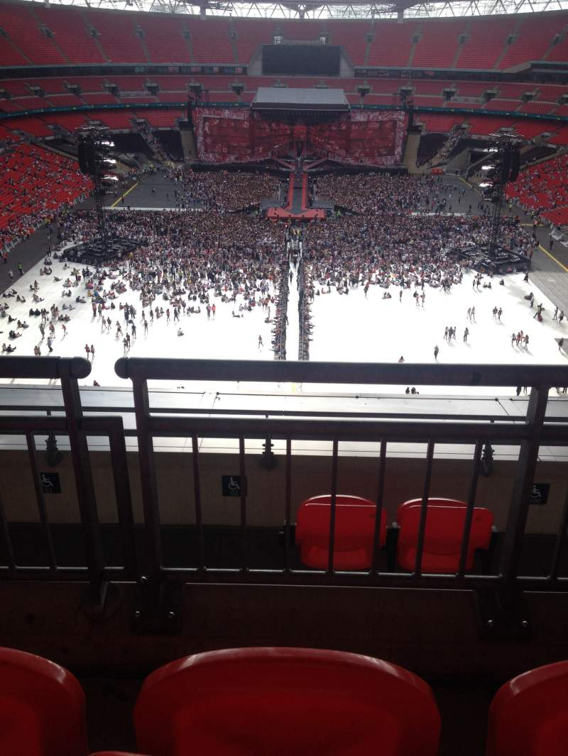 Wembley Stadium, section: 514, row: 16, seat: 1