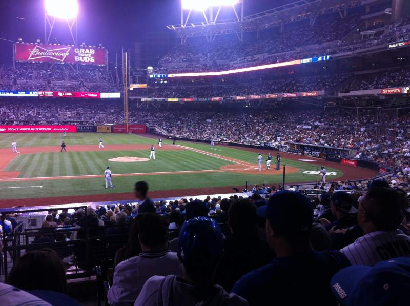 PETCO Park, section: 108, row: 31, seat: 23