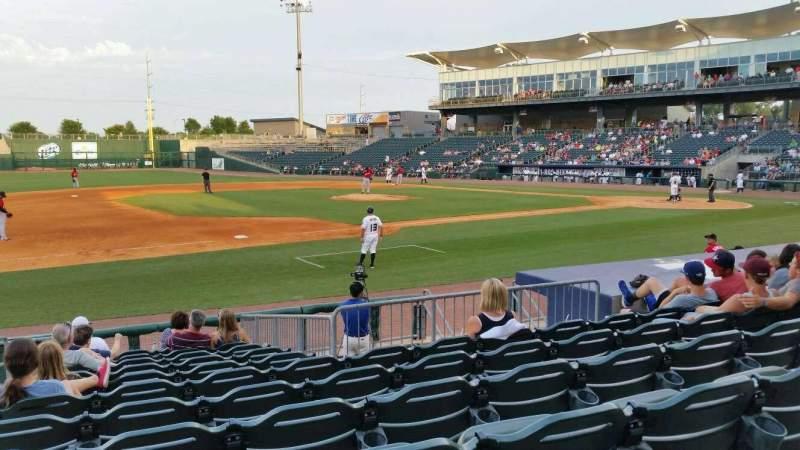 Arvest Ballpark, section: 117, row: K, seat: 15