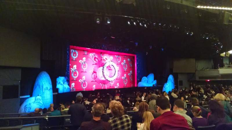 The Theatre At Madison Square Garden Section 203 Row F Seat 1 Dr Seuss 39 How The Grinch
