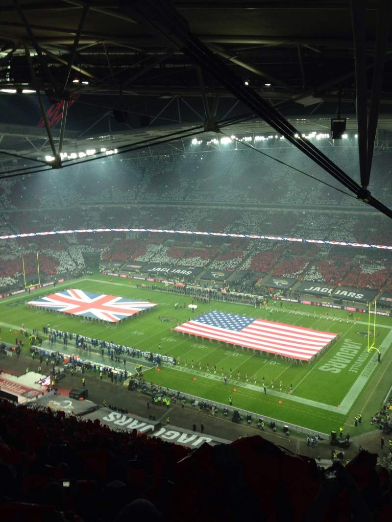 Seating view for Wembley Stadium Section 522 Row 35