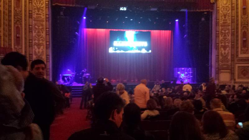 Seating view for Cadillac Palace Theater Section Orchestra C Row W Seat 101 & 102
