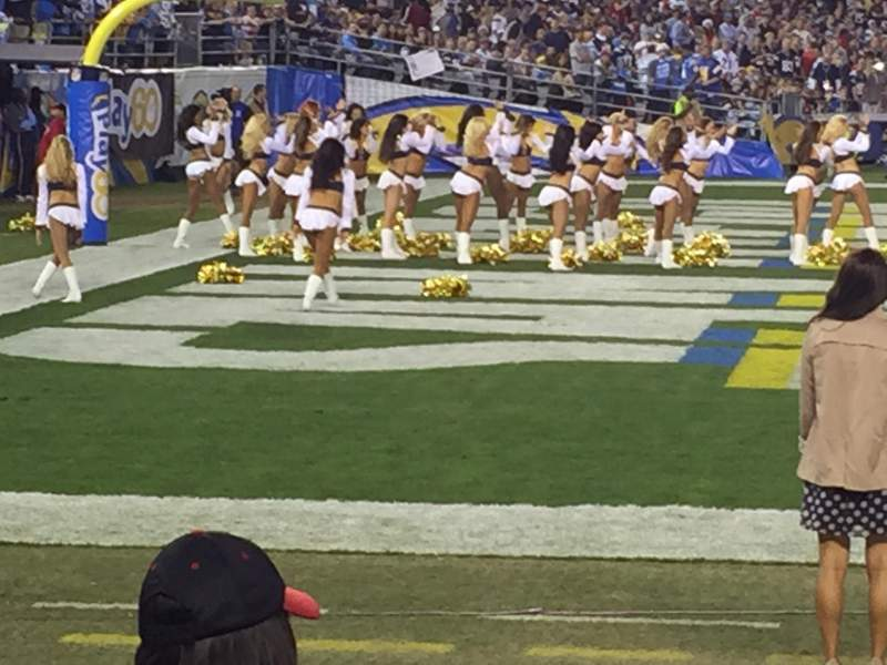 Seating view for Qualcomm stadium Section LF 31 Row 3 Seat 1