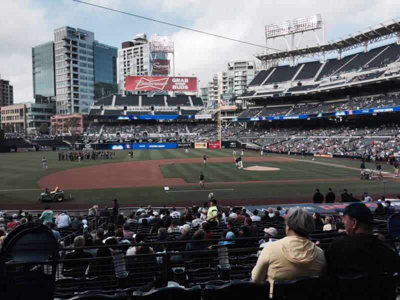 PETCO Park, section: 110, row: 26, seat: 13