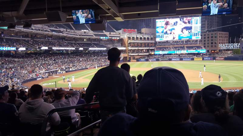 PETCO Park, section: 109, row: 41, seat: 1