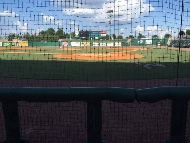 Arvest Ballpark, section: 112, row: B, seat: 6