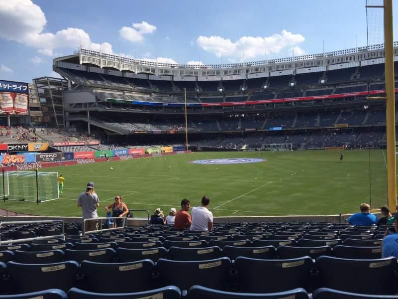 Yankee Stadium, section: 132, row: 23, seat: 14