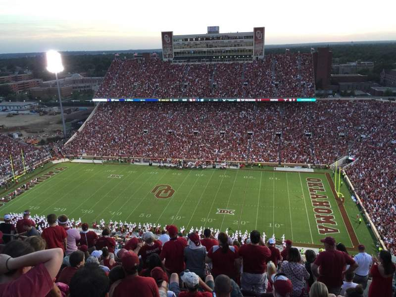 Seating view for Gaylord Memorial Stadium Section 228 Row 19 Seat 9