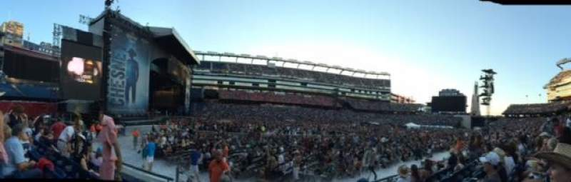 Gillette Stadium, section: 113, row: 7, seat: 20