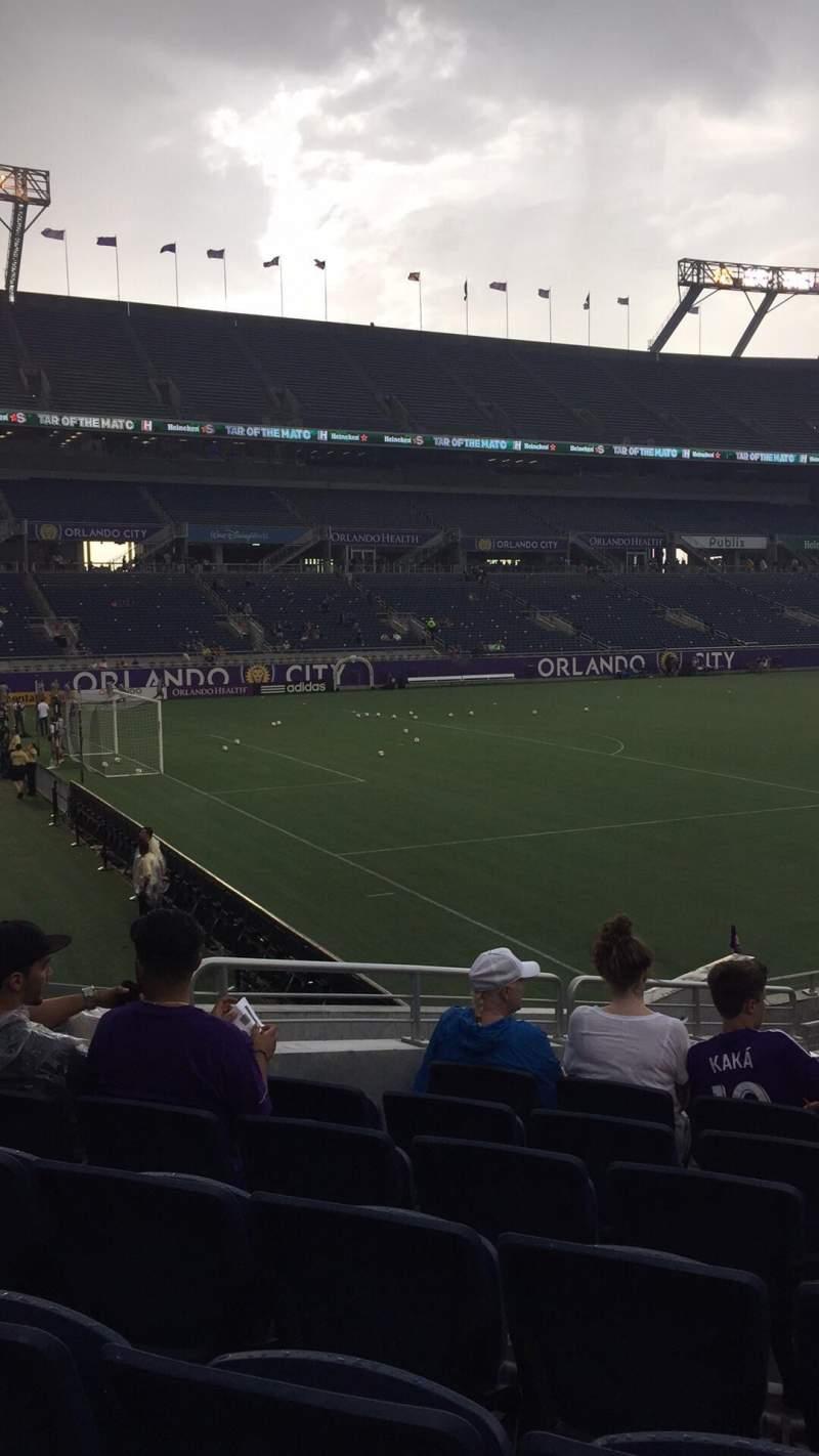Camping World Stadium, section: 115, row: p, seat: 17-18
