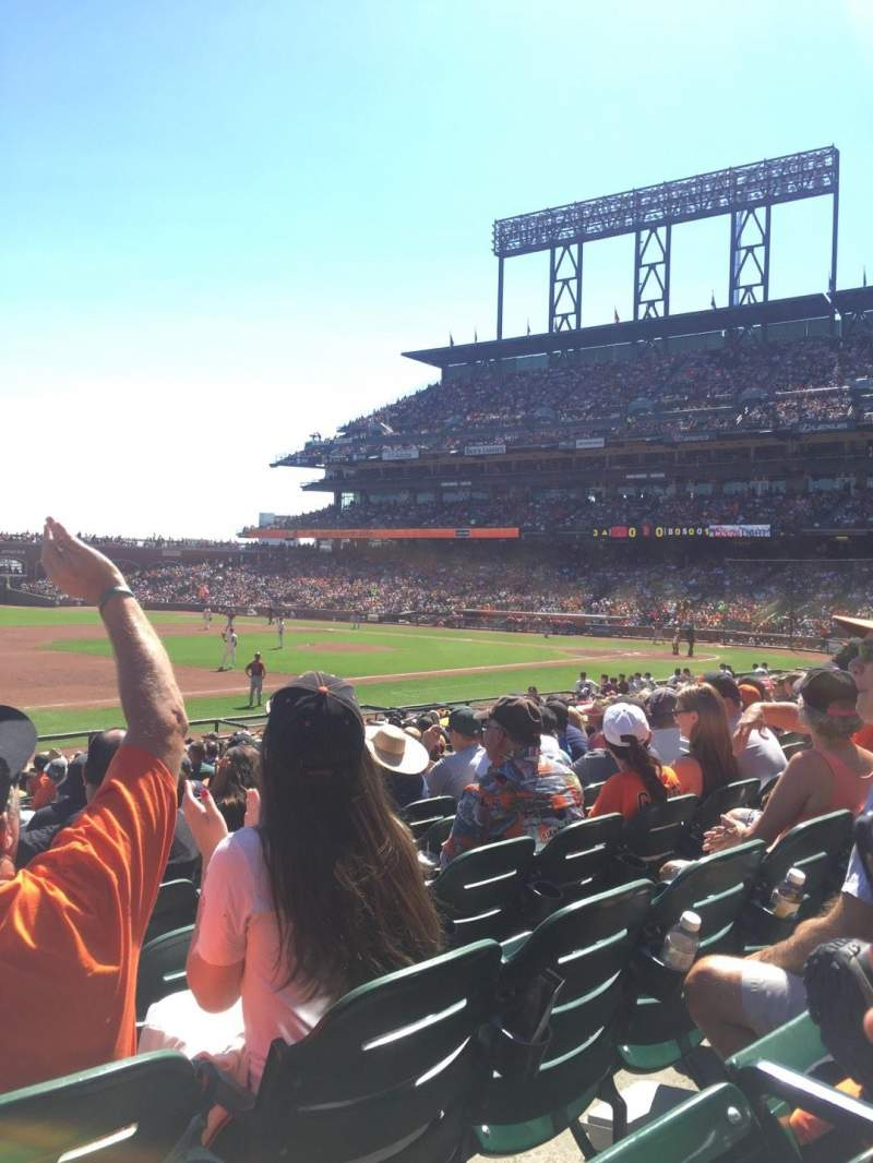 AT&T Park, section: 126, row: 21, seat: 18, 19