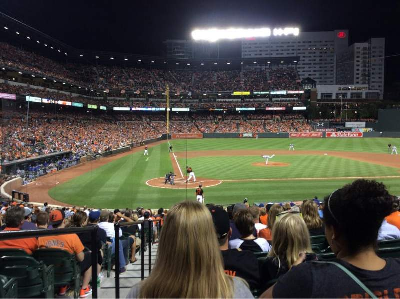Seating view for Oriole Park at Camden Yards Section 28 Row 24 Seat 11