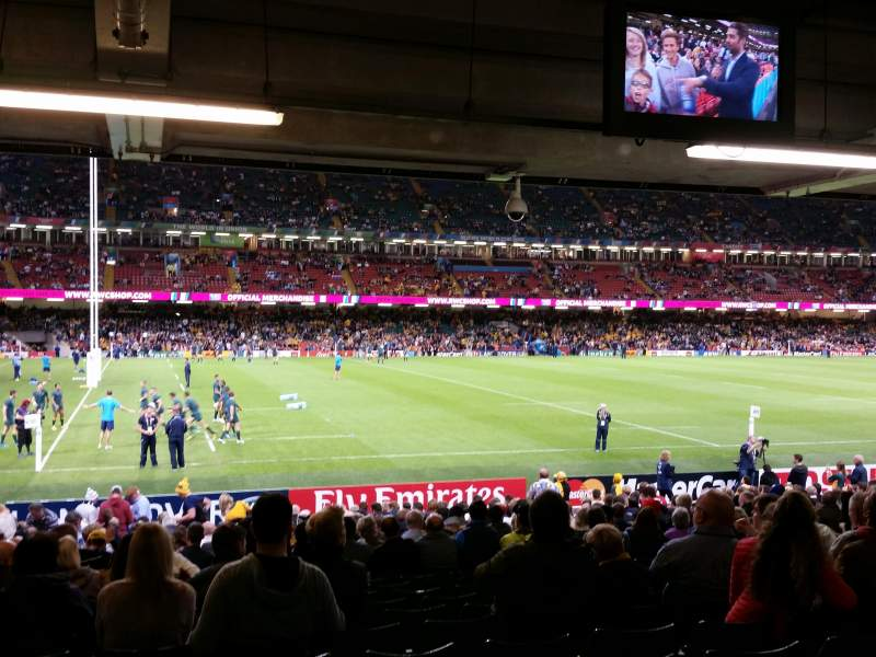 Seating view for Principality Stadium Section L33 Row 25 Seat 5/6/7