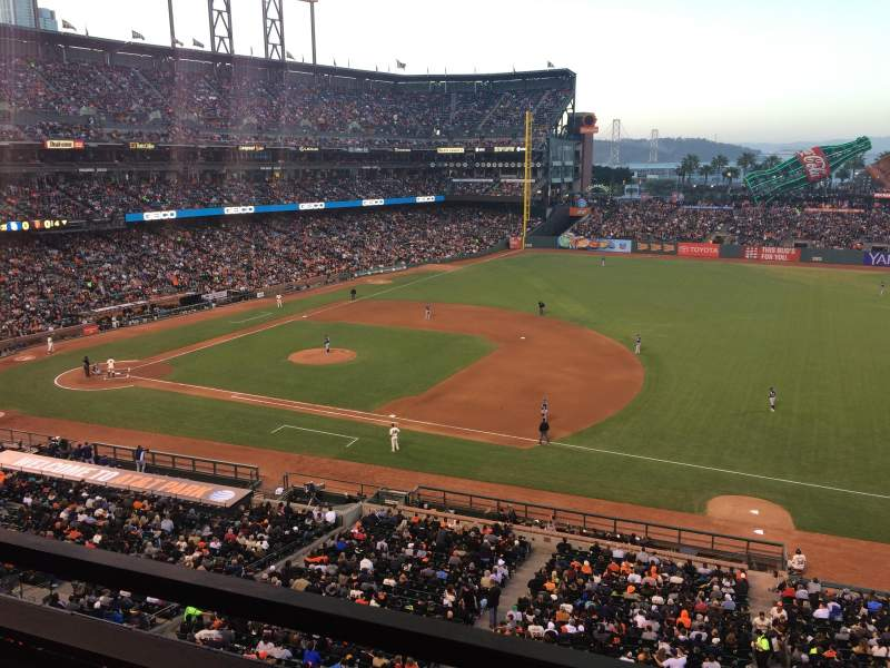 AT&T Park, section: Suite 6, row: A, seat: 1
