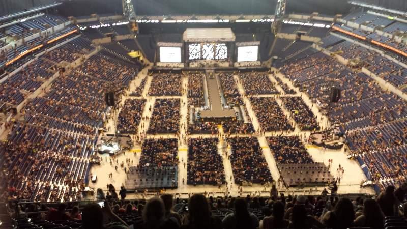 Lucas Oil Stadium Seat View Concert | Brokeasshome.com