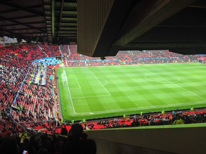 Seating view for Old Trafford Section NE3424 Row 35 Seat 2