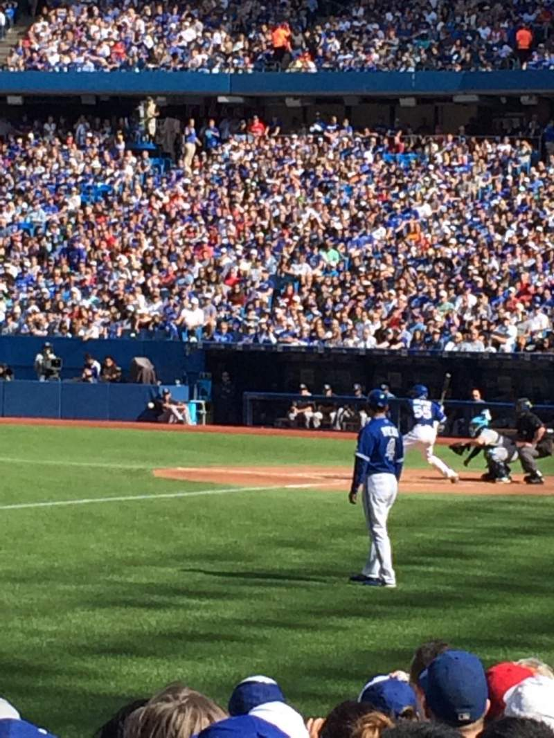 Rogers Centre Section 129r Row 6 Seat 7 Toronto Blue