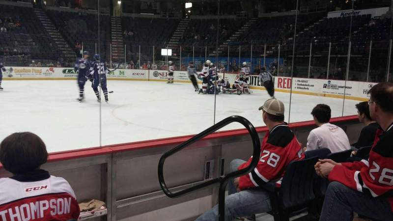 Seating view for Times Union Center Section 104 Row CC Seat 2