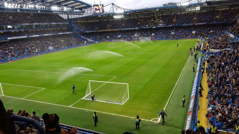 Seating view for Stamford Bridge Section The Shed End (Away End) Row 12 Seat 60