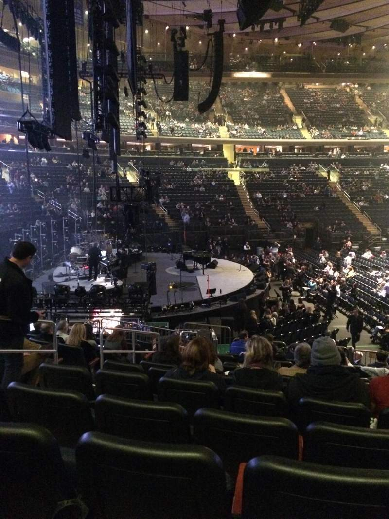 Madison Square Garden: Madison Square Garden, Section 115, Row 14, Seat 5